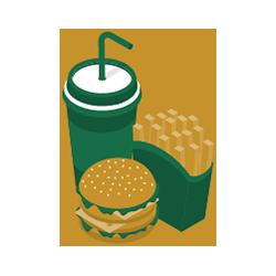 الأغذية والمشروبات